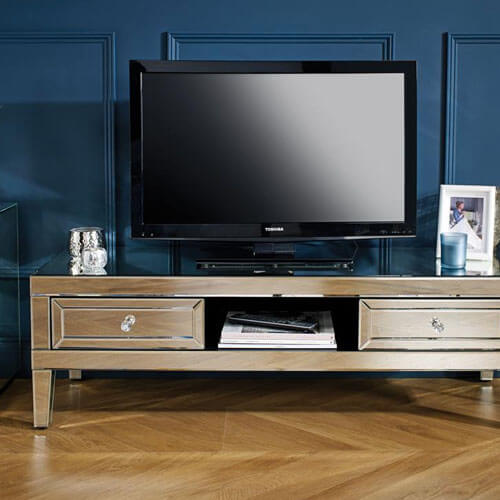 Mirrored TV Units & Cabinets