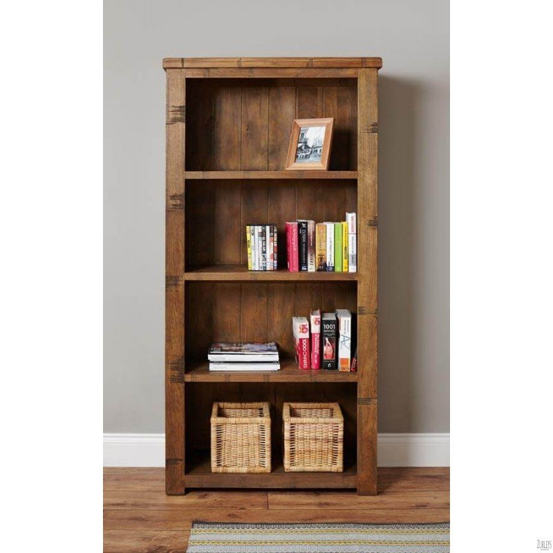 Get the Look: Rustic Bookcase