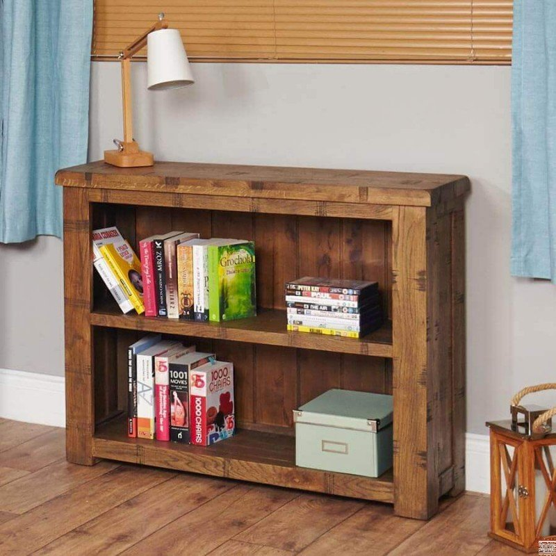 Get the Look: Rustic Bookcase Small