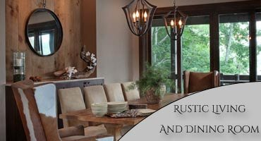 Rustic Living and Dining