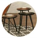 Rustic Metal Tables